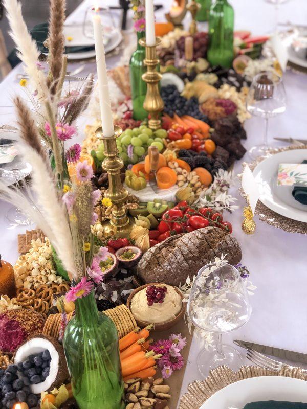 Grazing Table Runner Wedding Food