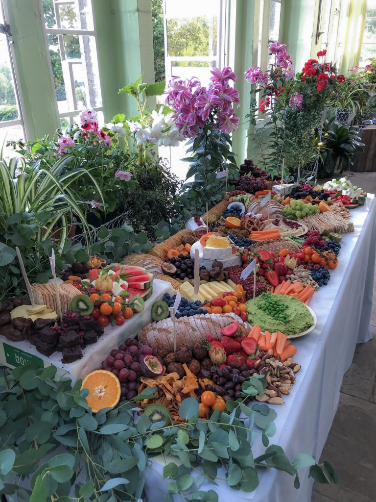 Grazing Table Wedding Food